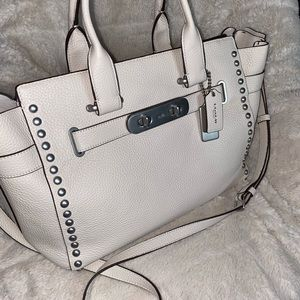 Coach Swagger Carryall with Rivets